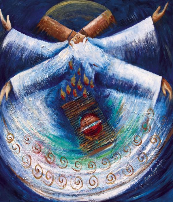 spinning Rumi
