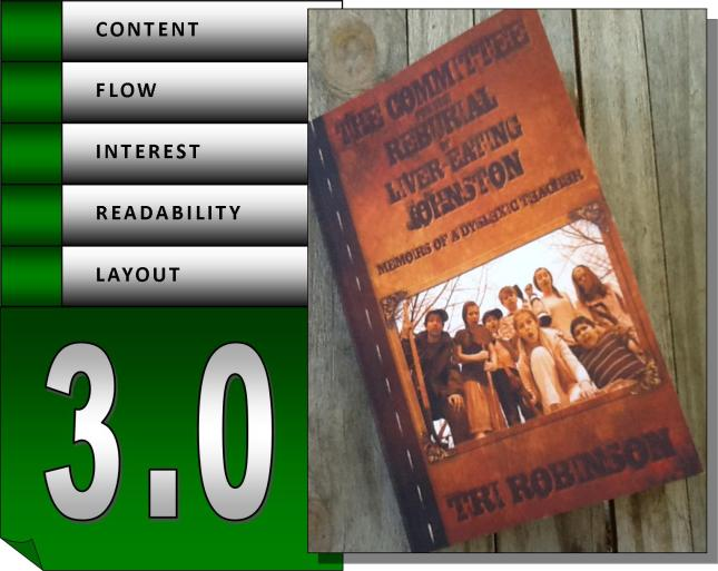 if I was using the rating system from my old book cellar site, this would be what I would have posted...